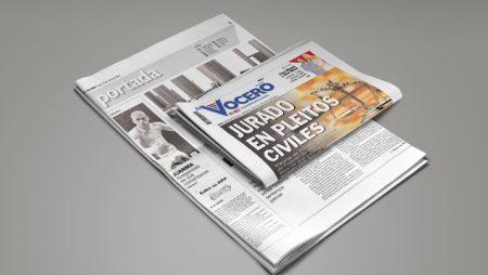 "Vocero Cover: Jury trial right in civil cases is granted in Puerto Rico (""Jurado en Pleitos Civiles"") (7th and 14th Amendments)"