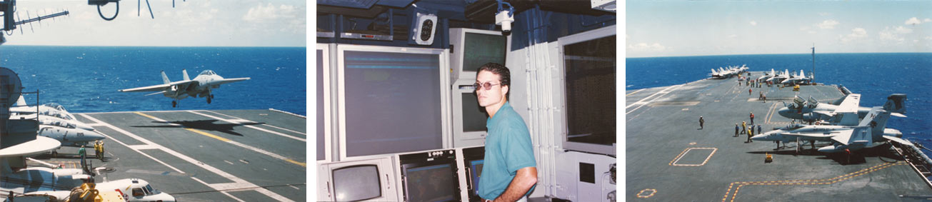 Alfredo Castellanos – special guest at USS JohnC. Stennis (CVN-74)