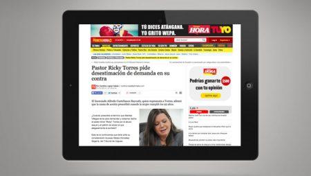 31 de enero en Primera Hora: Pastor Ricky Torres pide desestimación de demanda en su contra.