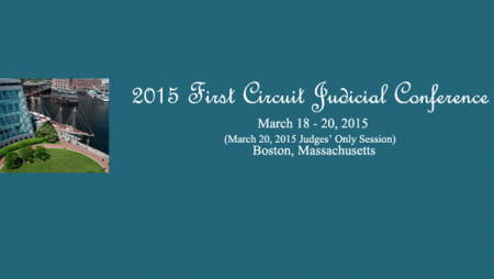 2015 First Circuit Judicial Conference