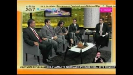 Noticias 24/7 with Ricky Rosselló (current Governor-elect of Puerto Rico)
