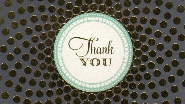 """A Personal """"Thank You"""" note to Mr.Castellanos"""