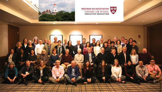 Class 2016 Harvard Law School/MIT/Tufts' Premiere Executive Mediation Program.