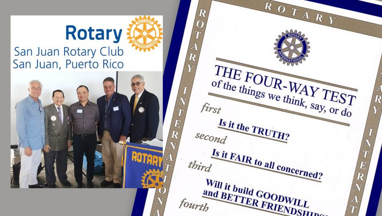 Mr. Castellanos, Esq. joined the prominent Rotary Club chapter in San Juan, Puerto Rico.